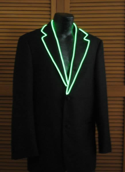 El Wire Coats And Vests Enlighted Illuminated Clothing