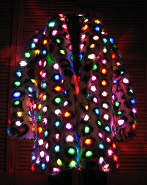 Faux Fur Coat by Enlighted Design