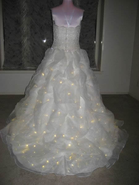 Lighted Wedding Dress Enlighted Illuminated Clothing