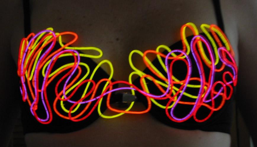 EL Wire Bras & Corsets - Enlighted Designs