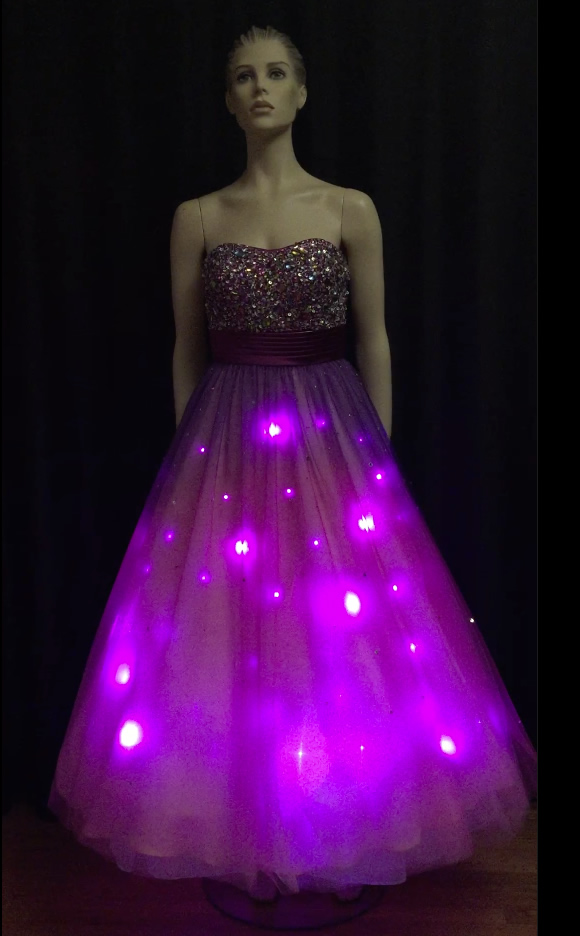 Pink Ballroom Dress - Enlighted Designs