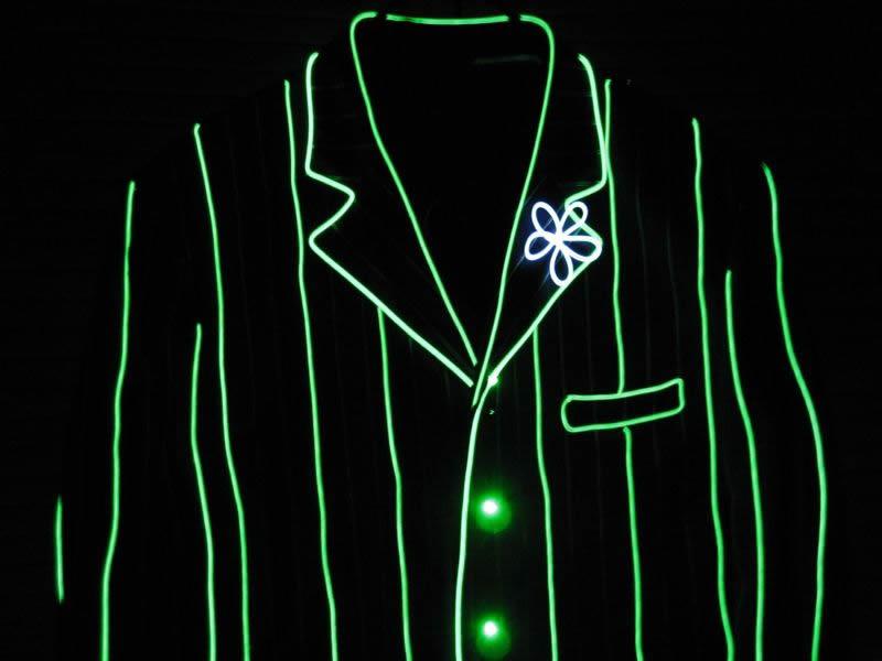 EL Wire Suits & Jackets - Enlighted Designs