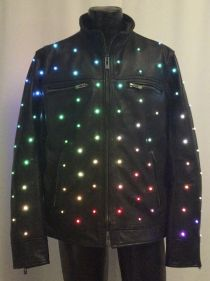 Enlighted Leather Jacket, 140 Pixels