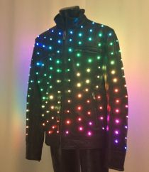 Enlighted Leather Jacket, 240 Pixels